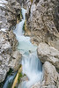 Upper Martuljek waterfall
