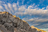 Clouds over Mt. Dolgi hrbet and Kočna