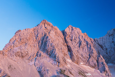 Two-day mountaineering in the Kamnik Alps 2014