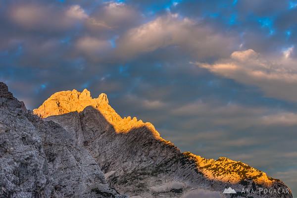 Mt. Kočna in the morning