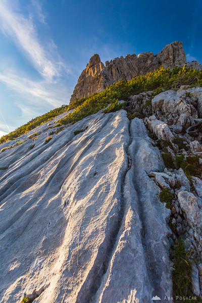 Steep slopes of Mt. Velika Baba