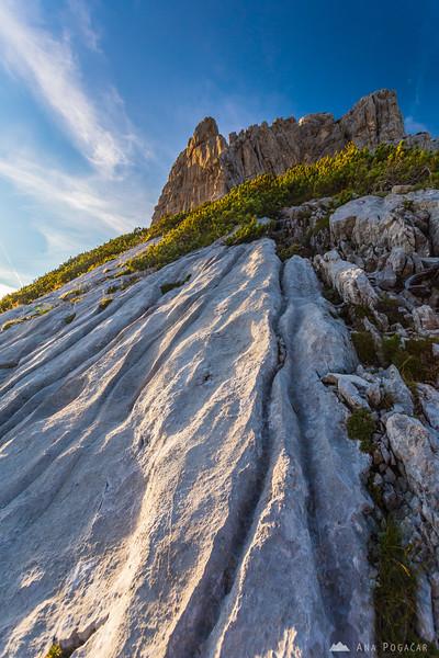 Steep slopes of Mt. Velika Baba