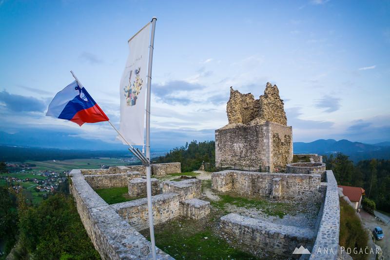 The Smlednik castle