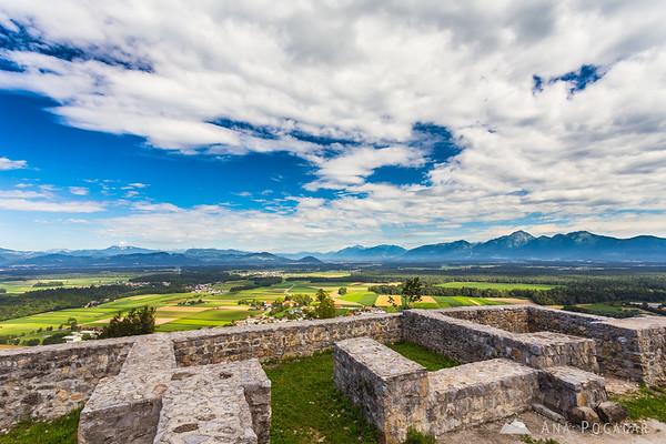 At Smlednik castle