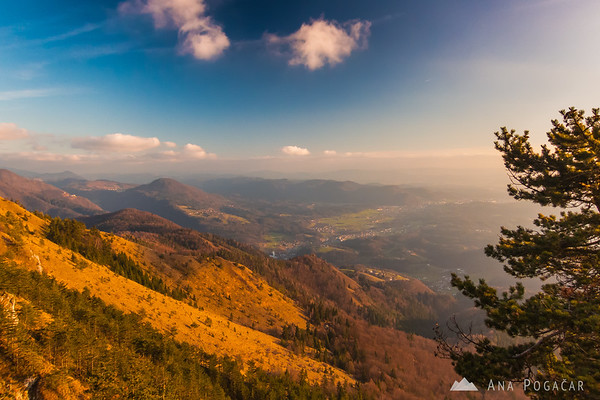Climbing Kamniški vrh