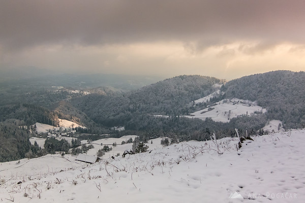 I was still under the cloud cover with no idea what it was like at the top.