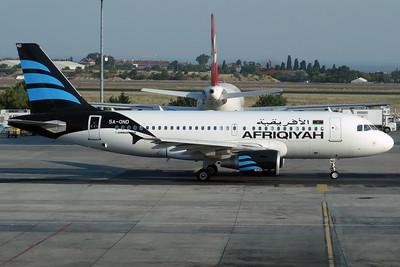 5A-OND A319-100 Afriqiyah