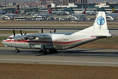 UR-CAH An-12BK Meridian Ltd