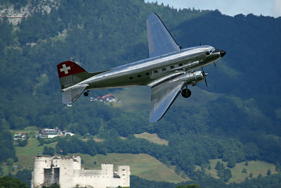 N431HM DC-3C 'Swissair' (Verein DC-3)