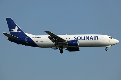 S5-ABZ B737-400(SF) Solinair/MNG Cargo