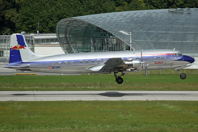 OE-LDM DC-6B Red Bull/The Flying Bulls