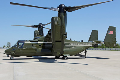 168306/07 MV-22B USMC HMX-1 'The Nighthawks' (MCAF Quantico)