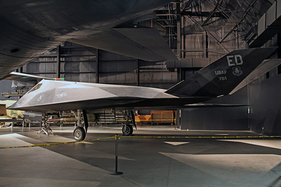 79-10781/ED YF-117A (FSD-2) USAF 410FLTS/412TW (Edwards AFB). The second of five F-117A's built for FSD (Full Scale Development) systems testing, known as 'Scorpion 2' (later 'Toxic Death'). Arriving here ten years after its first flight on 24th september 1981, apparently the designation YF-117A was never officially used by the USAF.