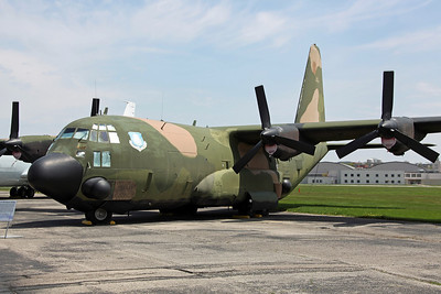 54-1626 AC-130A USAF AFSC. The first C-130 to be converted to an AC-130 'Spectre', in 1967 at Wright-Patterson AFB. The Gunship II program followed the success of the AC-47 'Spooky' gunships (with AC-119's converted on Gunship III). Only three months after the first flight testing at Eglin AFB, the aircraft was certified ready for combat testing in Vietnam.