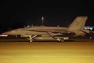 166846/NG-103 F/A-18F US Navy VFA-41 'Black Aces' (NAS Lemoore)