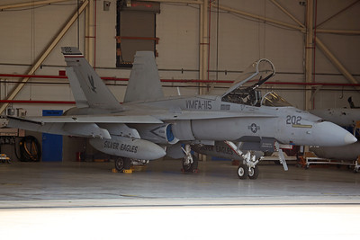 163173/VE-202 F/A-18A++ USMC VMFA-115 'Silver Eagles' (MCAS Beaufort)