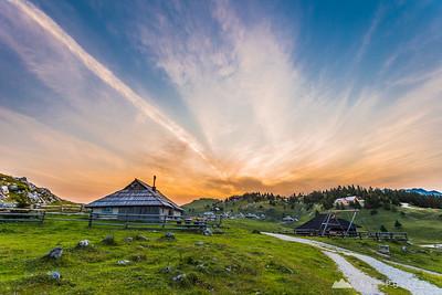 Afternoon on Velika planina - Jul 4, 2014