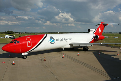 G-OSRA B727-200F Oil Spill Response/T2 Aviation