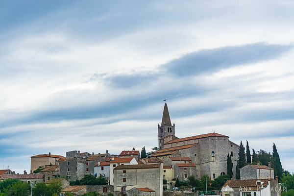 Bale, Croatia, on a cloudy afternoon