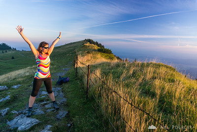 Hiking to Velika planina - Aug 29, 2015