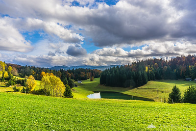 The Pokljuka plateau