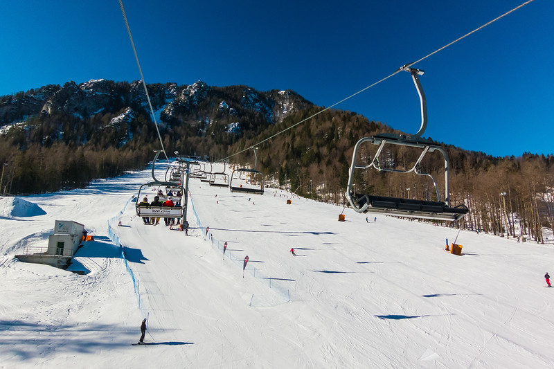 Skiing in Kranjska Gora