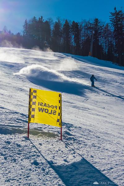 Skiing in Kranjska Gora