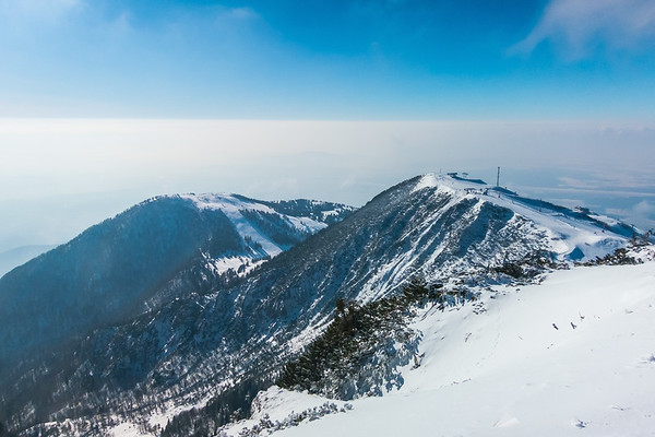 Skiing on Krvavec