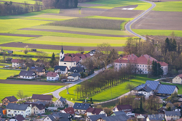 Views from Smlednik castle