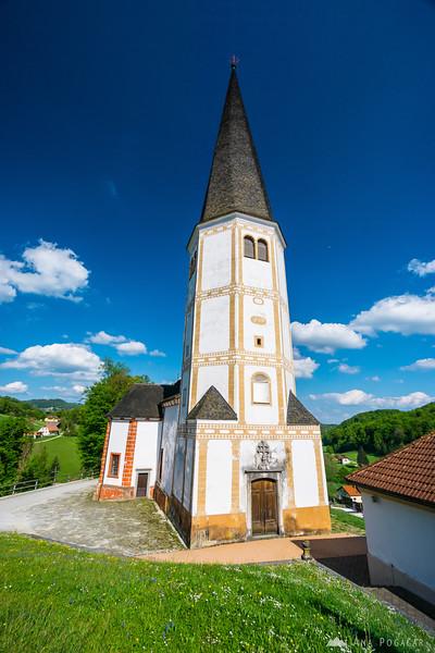 Church in Podčetrtek, Kozjansko
