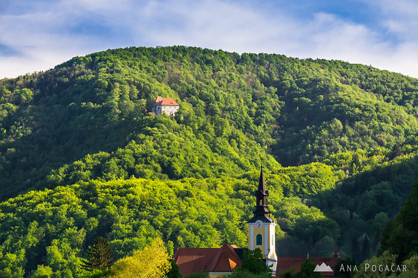 Podsreda castle, Kozjansko