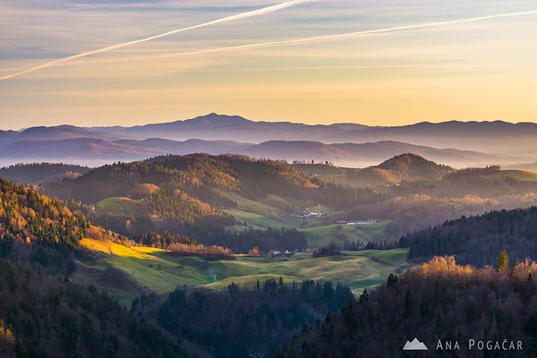 Views from Črni vrh