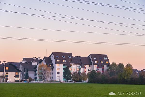 Duplica at sunset