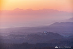 Smoggy sunset from ?pica