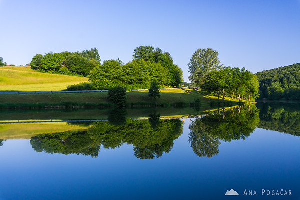 A lake in Prlekija