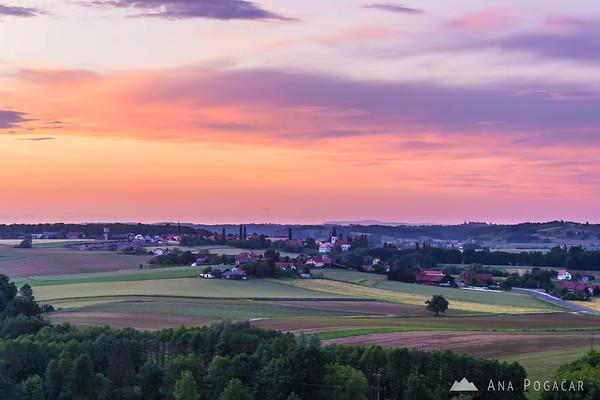 Sunset in Prlekija
