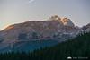 Mt. Triglav from Zajamniki on the Pokljuka plateau, at sunset