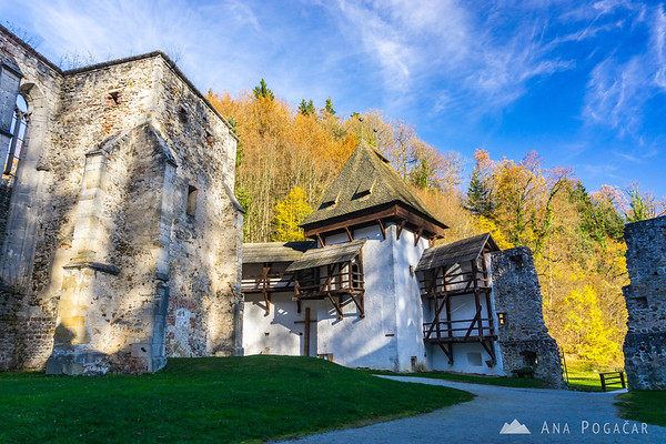 Žiče Charterhouse (Žička kartuzija) near Slovenske Konjice