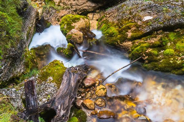 Peričnik waterfall in the Vrata valley