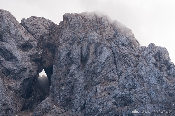 Mt. Prisojnik window