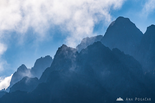 The layers of the Julian Alps
