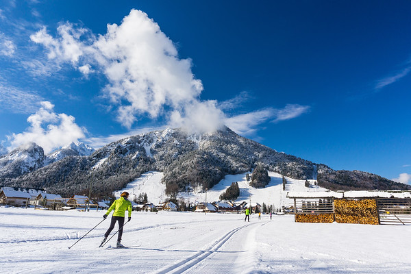 Kranjska Gora and cross-country skiing