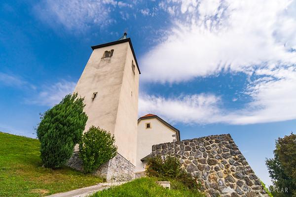 St. Marjeta church above Gradišče pri Lukovici