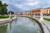 Padova on a cloudy morning