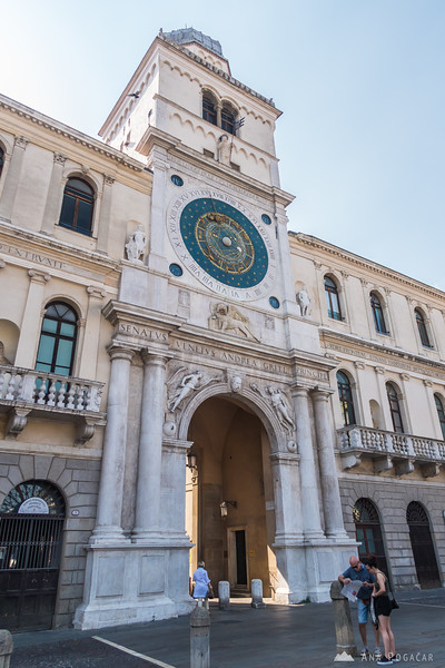 Afternoon stroll in Padova, Italy