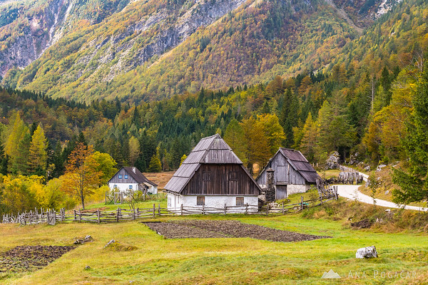 The fairy-tale like valley of Zadnja Trenta