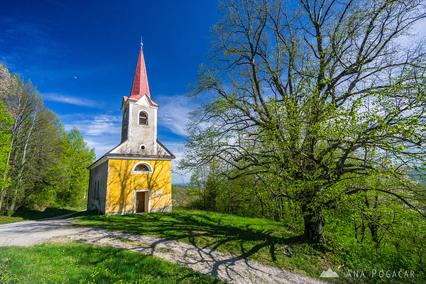 Church in Krašnji vrh, Bela krajina