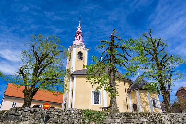 Church in Drašiči, Bela krajina