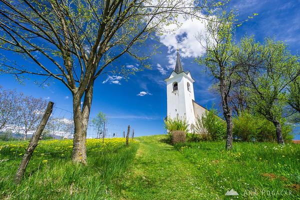 Church of St. Urban in Grabrovec, Bela krajina