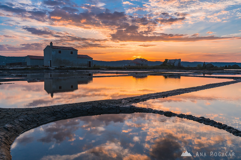 Sunrise in Sečovlje salt pans - Sep 24, 2016